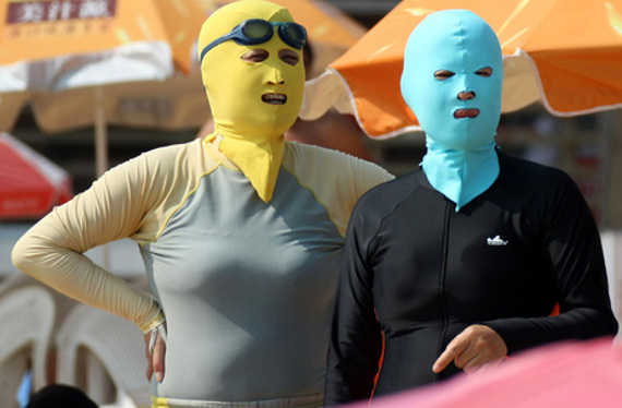 Face-Kinis Are All The Rage In China