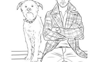 Hey Girl, It's a Ryan Gosling Coloring Book