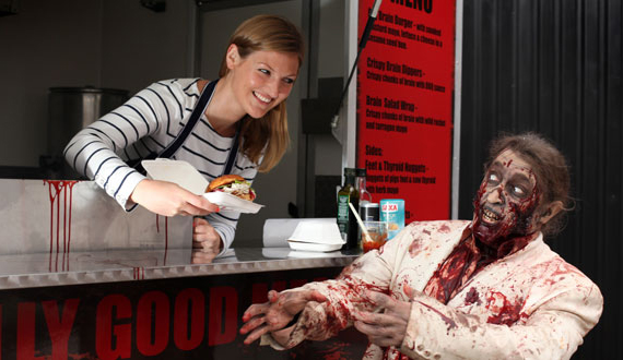 Gory Gourmet: Walking Dead Food Truck