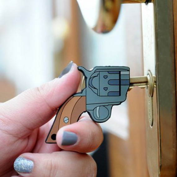 Bang Bang! Open Up! Gun Shaped Key Covers