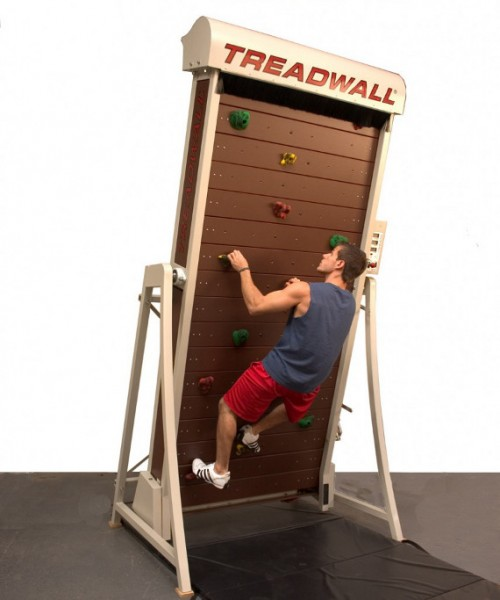 The Treadwall Is A Vertical Treadmill