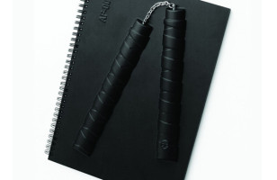 Armed Notebook – Nunchucks