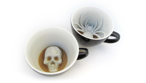 Find A Spooky Surprise In Your Morning Coffee