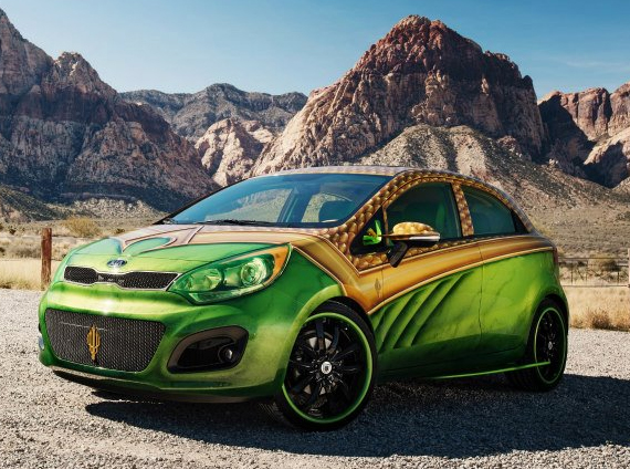 Justice League Inspired Kia Cars | Incredible Things