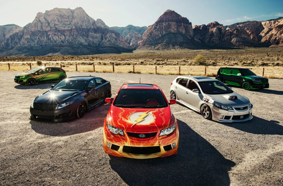 Justice League Inspired Kia Cars