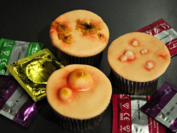STD Cupcakes Are The Perfect Cure For A Sweet Tooth