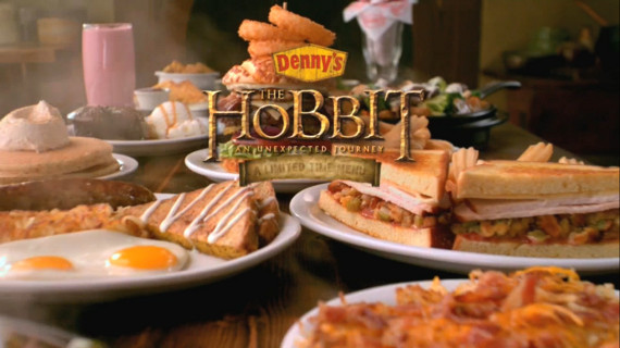 Hobbit Themed Menu Coming To Denny's
