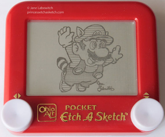 Etch-A-Sketch Inspired By Nintendo Games