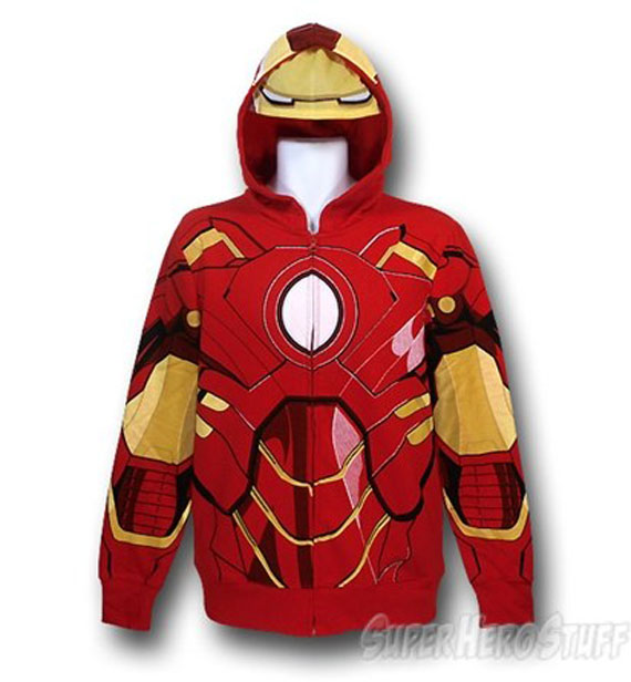 Not Very Incognito: Superhero Hoodies
