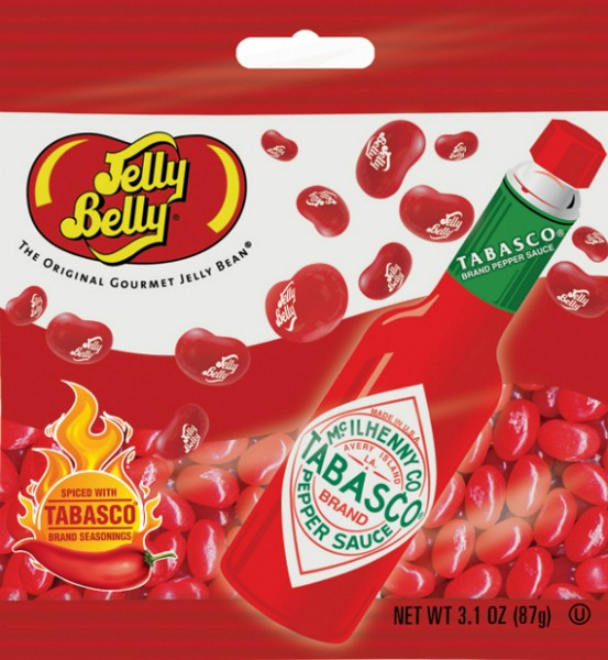 Tabasco Flavored Jelly Beans