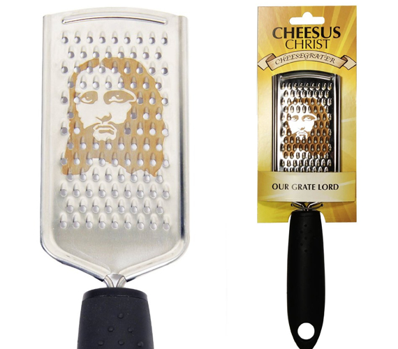 Cheesus Christ!: A Jesus Cheese Grater