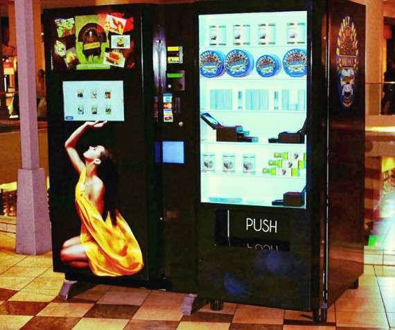 Fancy Pants: Caviar Vending Machine