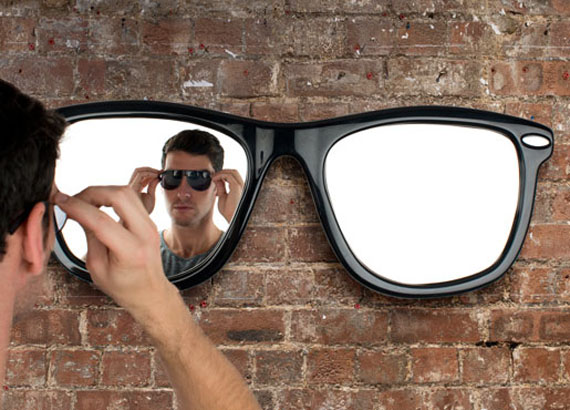 Reflect Upon Your Coolness In A Sunglasses Mirror