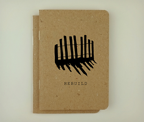 Sandy Relief Notebooks