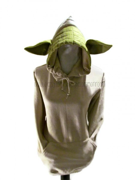The Force Is Strong With This Yoda Hoodie