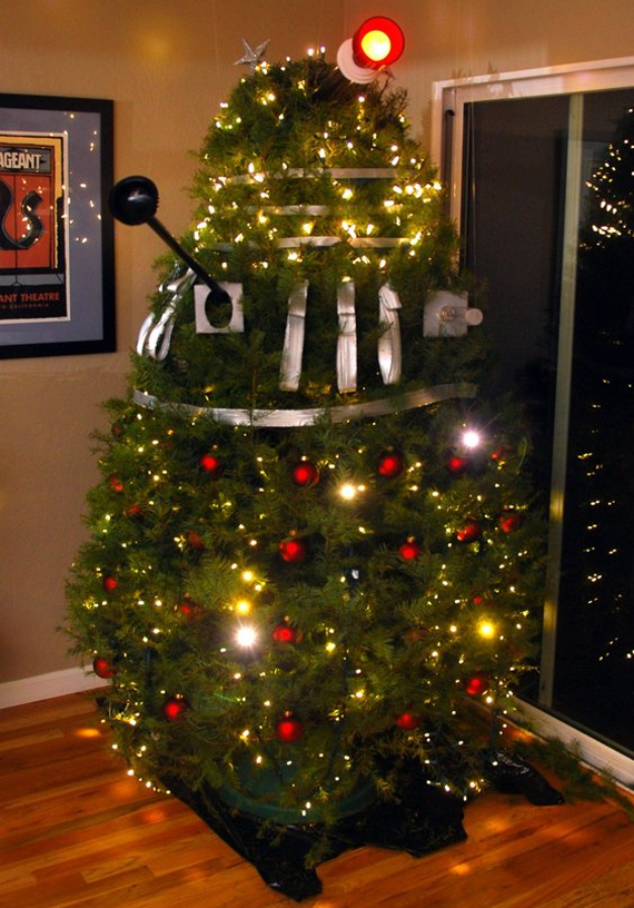 Dalek Christmas Tree | Incredible Things