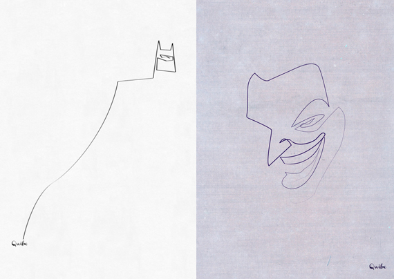 Line Art Poster : Minimal to the max one line prints incredible things