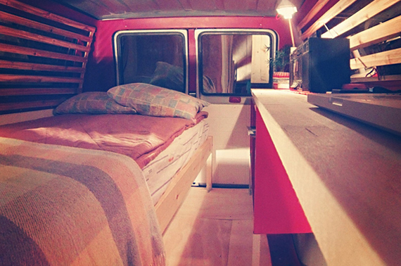 Home Sweet Home In A Van, Down By The River!