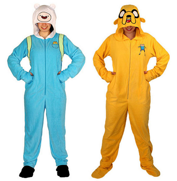 Adventure Time Footie Pajamas For Adults!