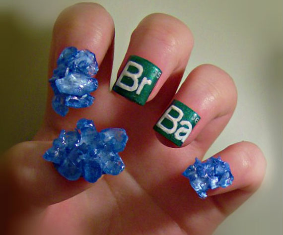 Amazing hobbit hole nail art more incredible things kayleighocs got other impressive nail art including a set themed after gandalf the grey breaking bad labyrinth edward scissorhands and many others prinsesfo Image collections