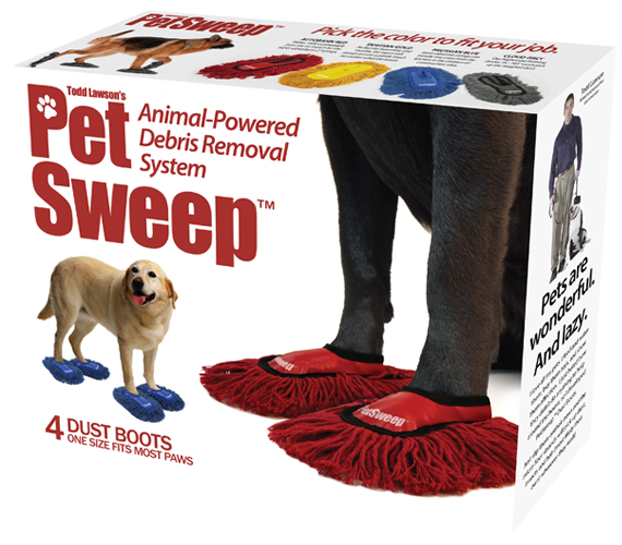 Pet Sweep Helps Your Dog Do The Cleaning Incredible Things