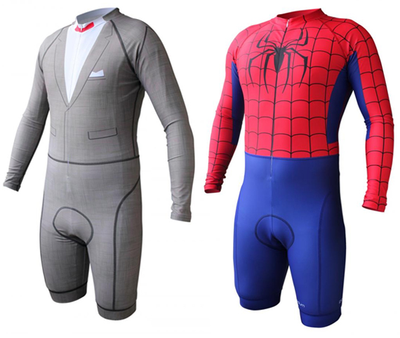 Pee-Wee Herman, Spider-Man, and More Awesome Cycling Skinsuits