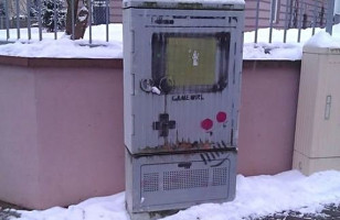 Gameboy Street Art