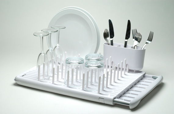 The Perfect Dish Rack for Tiny Apartments