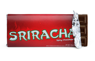 Sriracha Chocolate Bars Are Hot Stuff
