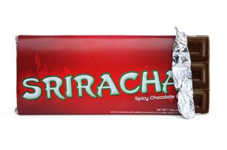 Sriracha Chocolate Bars Are Hot Stuff