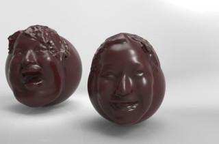 Eat A Chocolate Mold Of Your Face