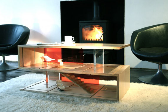 A Coffee Table That Doubles As A Dollhouse
