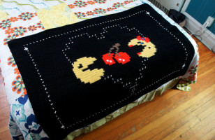 Classic Arcade Game Themed Blankets