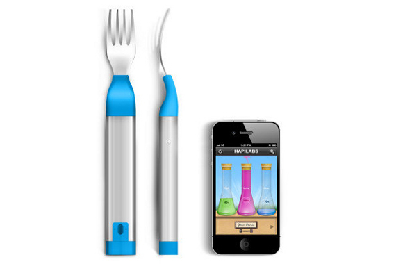 Fork Vibrates When You Eat Too Much
