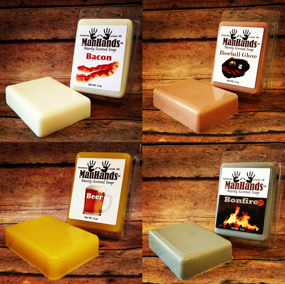Smexy Manly Scented Bar Soap