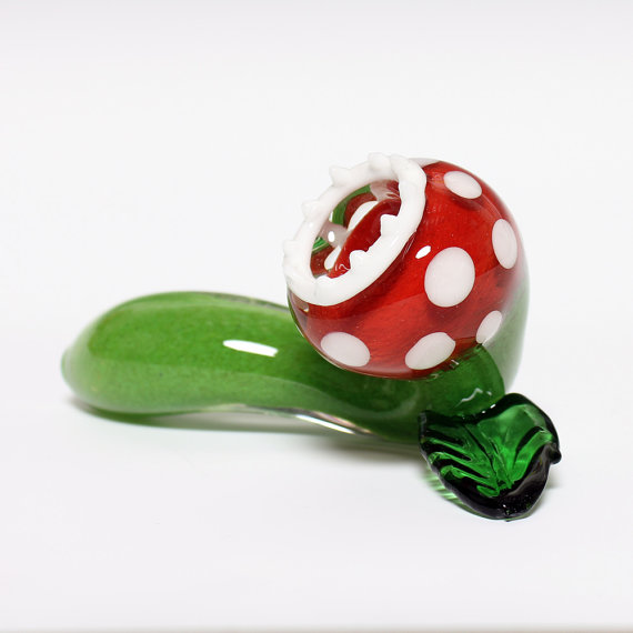 Piranha Plant Pipe For Smoking Plants