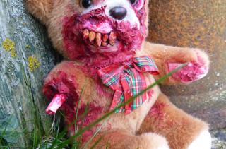 Nightmare Inducing Zombie Teddy Bears