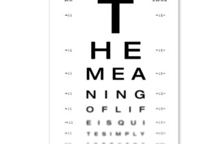 Can You See The Meaning of Life?
