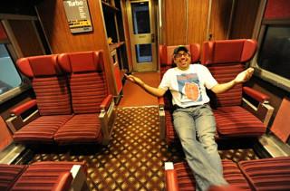 All Aboard The Basement Train