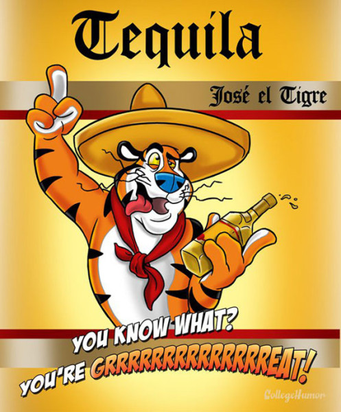 When Kid's Cereal Mascots Drink Alcohol