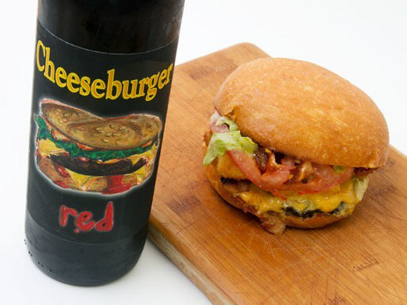Cheeseburger Wine Is Fast Food Classy