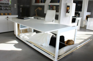 Go To Your Desk Bed!