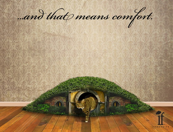 For Cats: Hobbit Hole Litter Box
