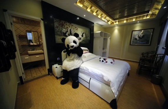 SQUEE!: A Panda-Themed Hotel