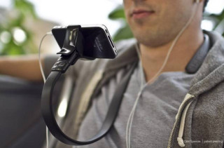 Doofy Hands-Free iPhone Holder Thingy