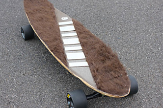 It's Not Wise To Upset A Skater on the Wookie Longboard