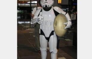 Stormtrooper Easter Bunny