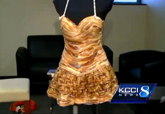 This Bacon Dress Is Breakfasty Chic
