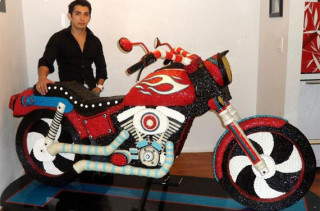Mmm, A Motorcycle Made Out Of Candy