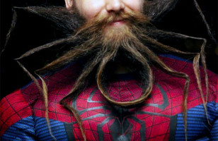 The Amazing Spider-Man Beard